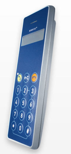 Medical handset with hygienic keypad MediTel T5IP