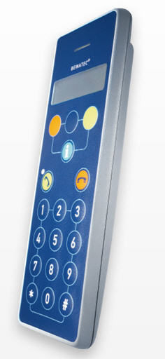 Medical handset with hygienic keypad MediTel T5Z (centralised)