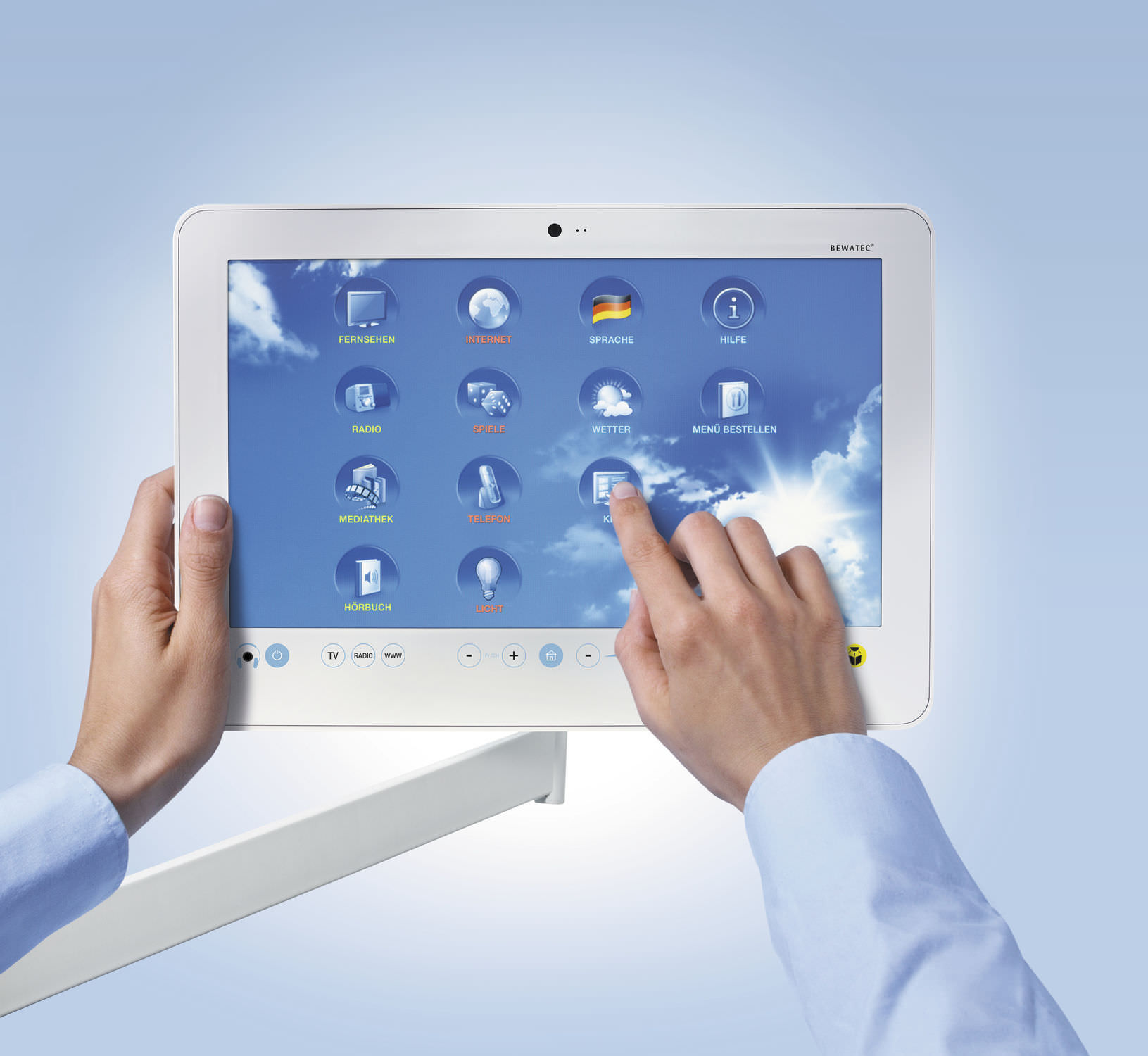 Communication web application / data management / medical 15″ | MyMediNet