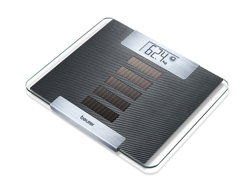 Digital weighing scale / solar powered 150 kg | GS 50