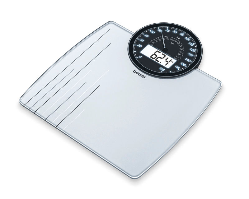 Digital weighing scale / mechanical 180 kg | GS 58