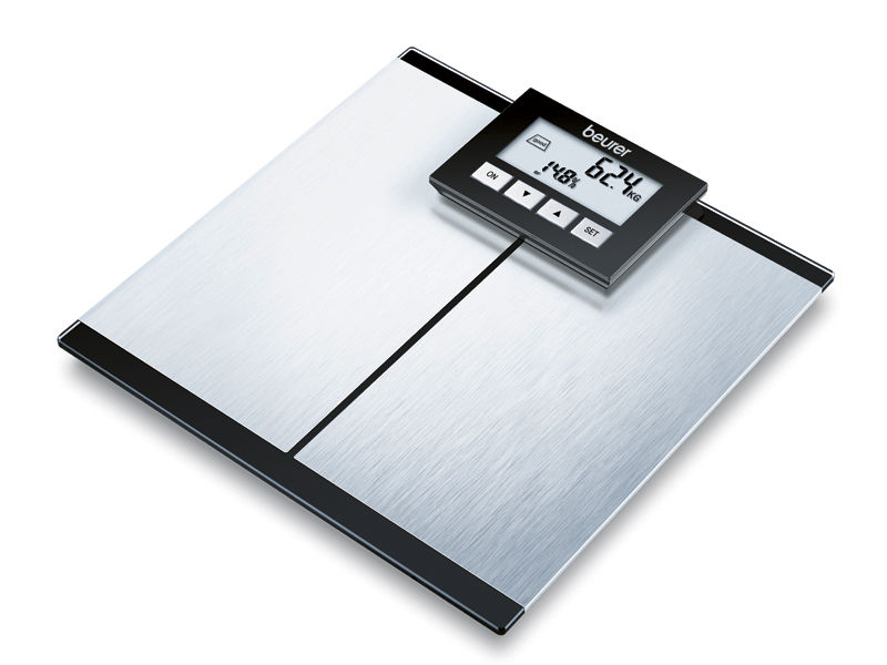Body composition analyzer bio-impedancemetry / with BMI calculation / with mobile displays 150 kg | BG 64