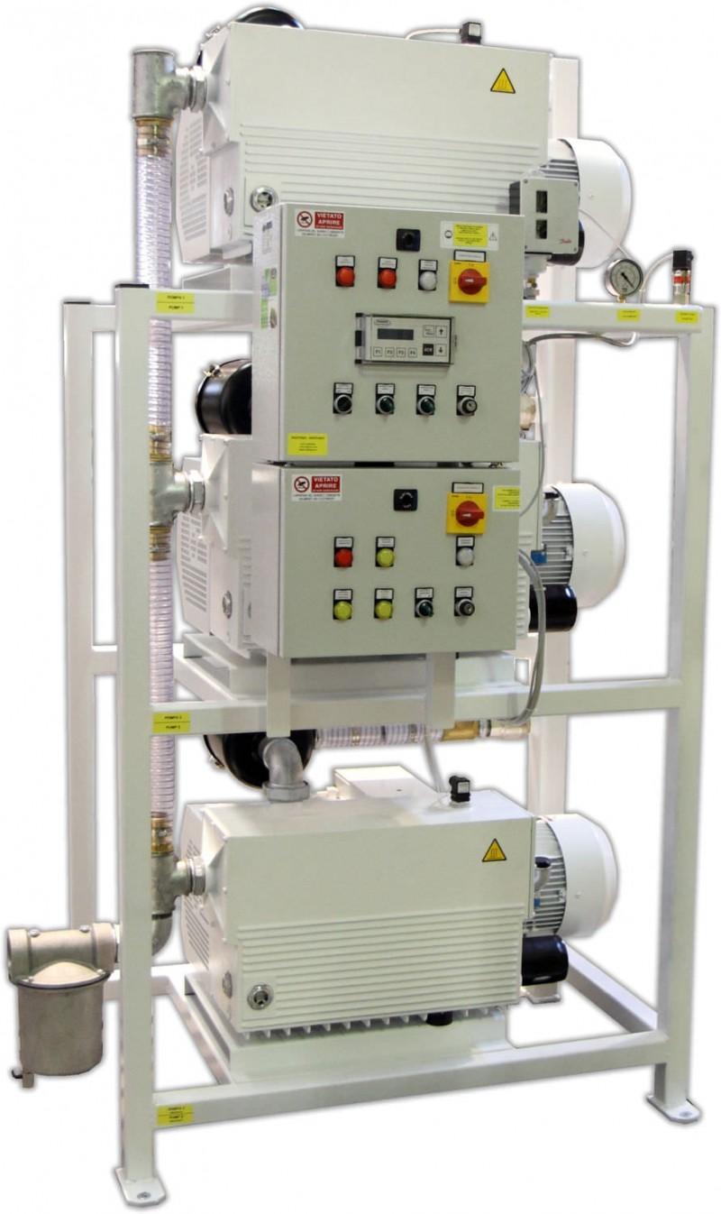 Medical vacuum system 3×220 m3/h – 3×340 m3/h